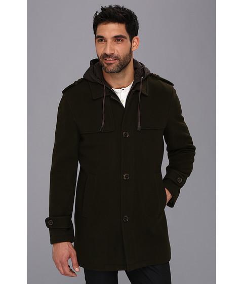 UPC 881674342548 - Cole Haan Italian Luxe Wool Duffle Coat (Olive ...