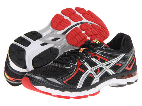 ASICS - GT-2000 2 (Black/Lightning/Red Pepper) Men's Running Shoes