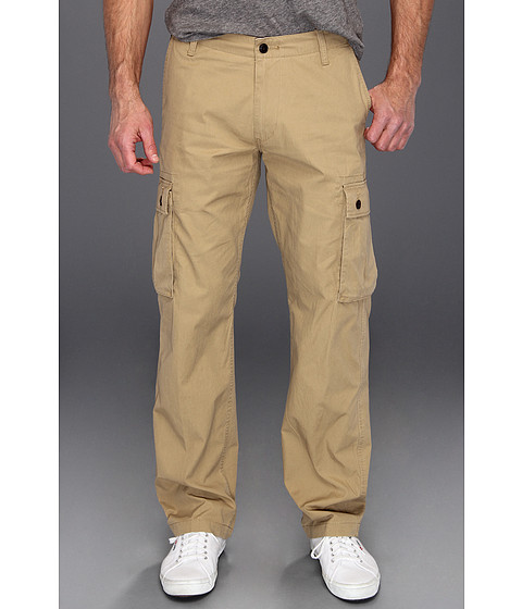 Dockers Men's - Bellowed Pocket Cargo (Gold Dust) Men's Casual Pants