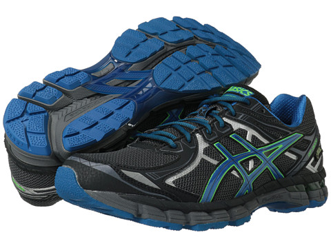 ASICS - GT-2000 2 GTX (Storm/Green Gecko/Lightning) Men's Running Shoes