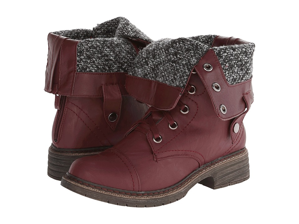 Wanted - Crowley (Burgundy) Women's Boots