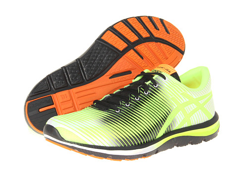 ASICS - GEL-Super J33 (Flash Yellow/Black/Flash Orange) Men's Running Shoes