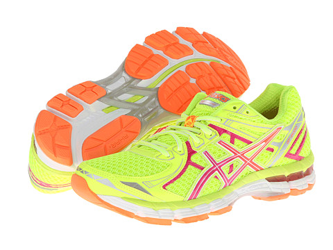 ASICS - GT-2000 2 (Flash Yellow/Hot Pink/Orange Clown Fish) Women's Running Shoes