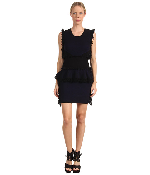 McQ - 324059RAK27 4172 (Cobalt Blue/Black) Women's Dress