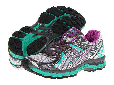 ASICS - GT-2000 2 Trail (Titanium/Purple/Emerald) Women's Running Shoes