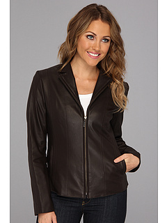 SALE! $299.99 - Save $299 on Cole Haan Glove Lamb Scuba Jacket (Chocolate) Apparel - 49.92% OFF $599.00