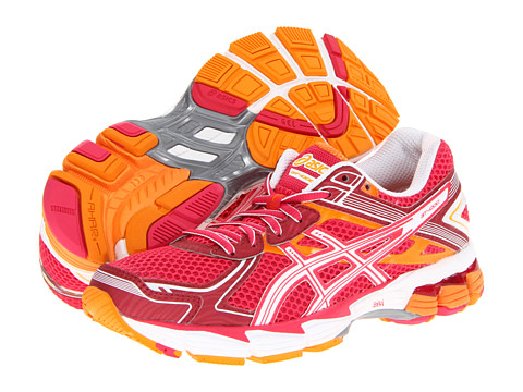 ASICS - GT-1000 2 (Raspberry/White/Mango) Women's Running Shoes