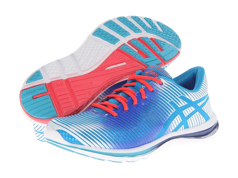 ASICS - GEL-Super J33 (Blue Atoll/White/Dazzling Blue) Women's Running Shoes