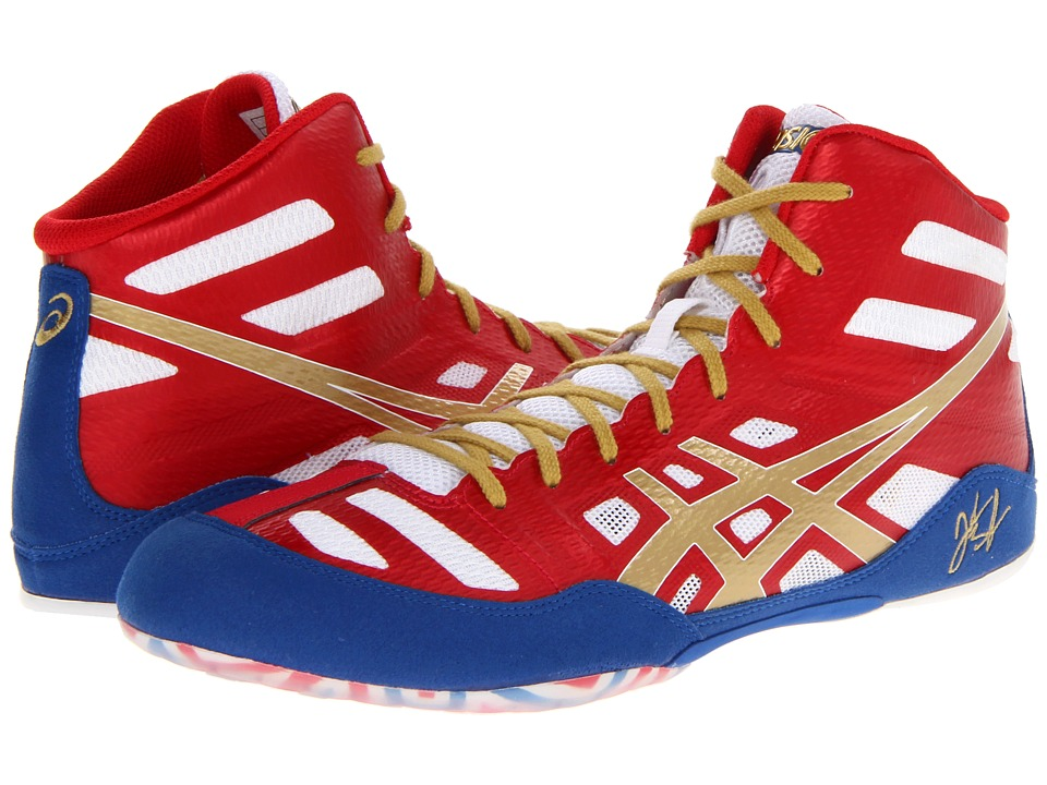 ASICS - JB Elite (True Red/Olympic Gold/White) Men