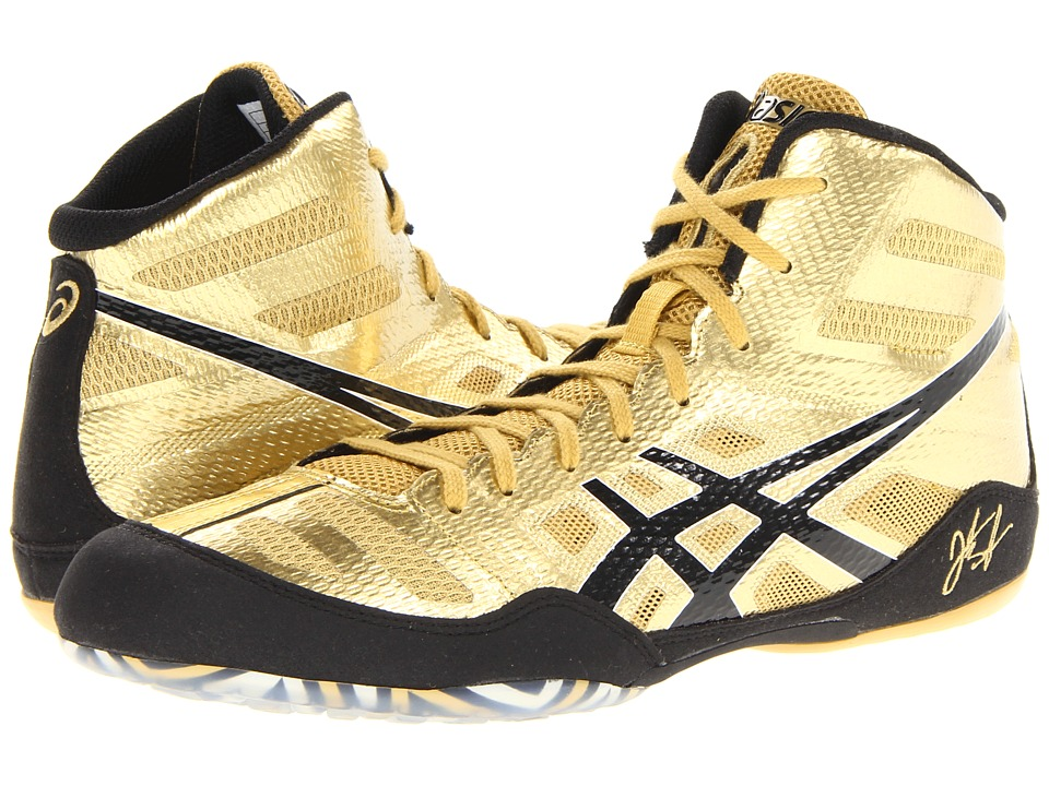 ASICS - JB Elite (Olympic Gold/Black/White) Men's Wrestling Shoes