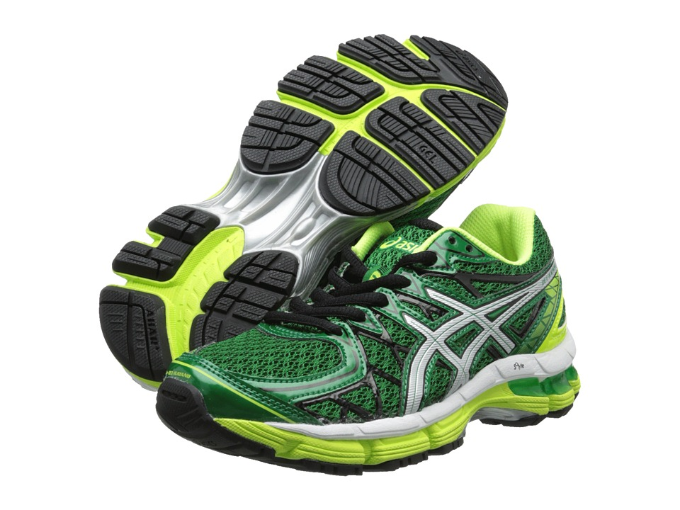 ASICS Kids - Gel-Kayano 20 GS (Little Kid/Big Kid) (Pine/Lightning/White) Boys Shoes