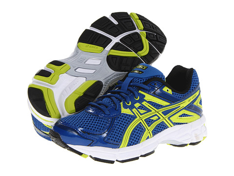ASICS Kids - GT-1000 2 GS (Little Kid/Big Kid) (Royal/Lime/Black) Boys Shoes