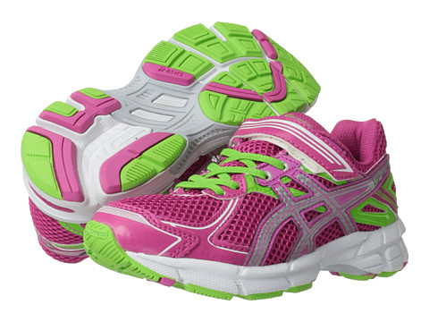 ASICS Kids - GT-1000 2 PS (Toddler/Little Kid) (Hot Pink/Lightning/Apple) Girls Shoes