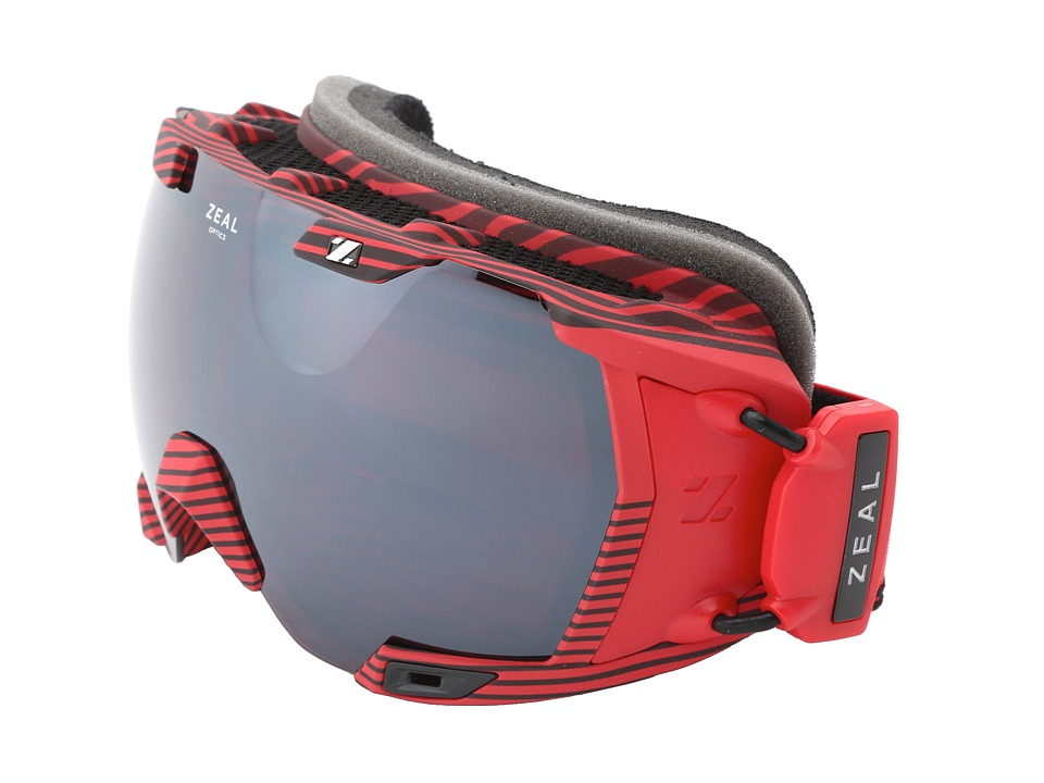 Zeal Optics - Z3 GPS Mod (Quantum Red + Optimum Lens w / Metal Mirror) Goggles