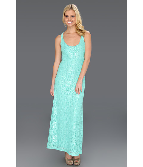 Lucy Love - Lace La Costa Dress (Spearmint) Women