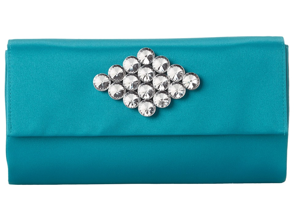 Nina - Litzy (Teal) Clutch Handbags