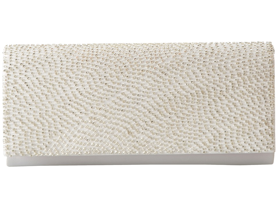 Nina - Machell (Silver) Clutch Handbags