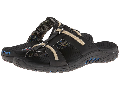 SKECHERS - Reggae - Lion Zion (Black) Women's Sandals