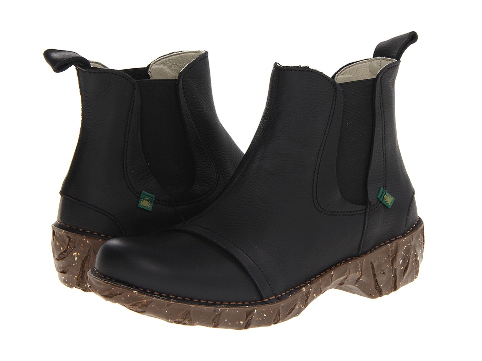 El Naturalista - Iggdrasil N158 (Black) Women's Pull-on Boots