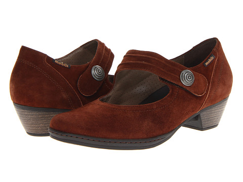 Mephisto - Frinia (Tobacco Velcalf Premium) Women's Shoes