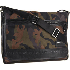 SALE! $70.36 - Save $50 on Diesel Camo on the Road Twice New Voyage (Camouflage) Bags and Luggage - 41.37% OFF $120.00