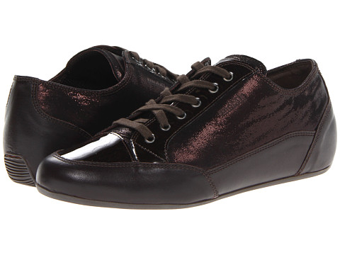 Mephisto - Ondine (Dark Brown Nappa Premium/Patent/Liz) Women's Shoes