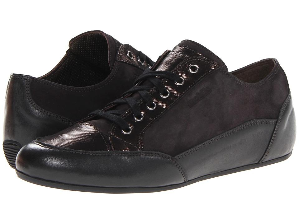 Mephisto - Ondine (Dark Grey Nappa Premium/Liz/Velcalf Premium) Women's Shoes