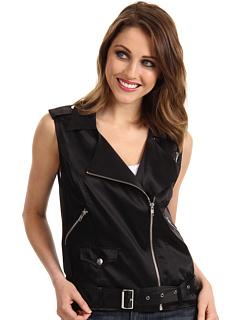 SALE! $119.99 - Save $178 on Patterson J Kincaid Flynn Sleeveless Moto Vest (Caviar) Apparel - 59.73% OFF $298.00