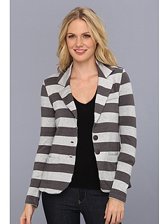 SALE! $44.99 - Save $83 on Tart Perla Blazer (Grey Charcoal Stripe) Apparel - 64.85% OFF $128.00