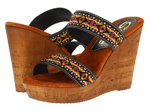 Sbicca - Ruby (Black Multi) Women