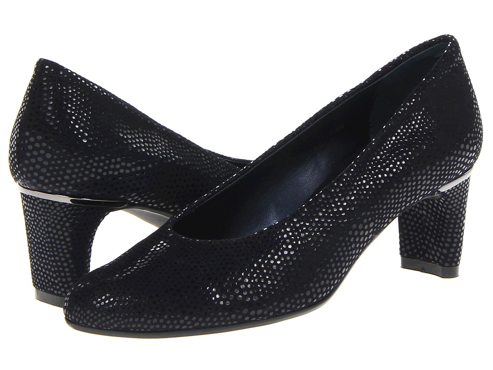 Vaneli - Dayle (Navy E-Print) Women's 1-2 inch heel Shoes