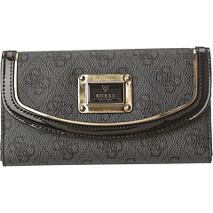 SALE! $27.99 - Save $12 on GUESS Reama Slim Clutch (Coal) Bags and Luggage - 30.03% OFF $40.00