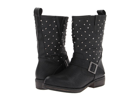 SKECHERS - Accented - Stud Factor (Black) Women's Boots
