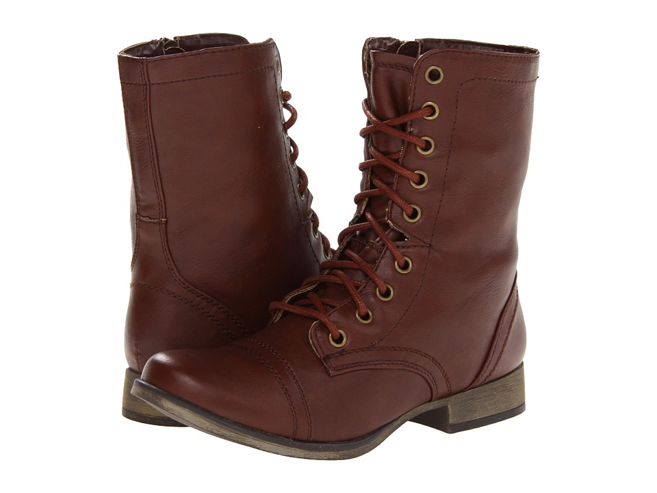 SKECHERS - Starship (Brown) Women's Lace-up Boots