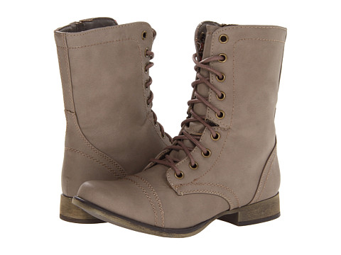 SKECHERS - Starship (Taupe) Women's Lace-up Boots
