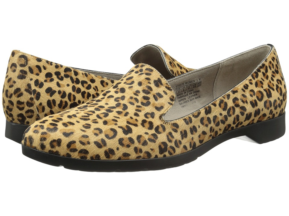 Rockport - Jia Slip On Flat (Leopard) Women's Slip on Shoes