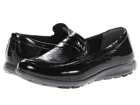 Rockport - truWalk Zero II Penny Loafer (Black Patent) Women