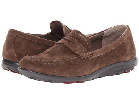 Rockport - truWalk Zero II Penny Loafer (Fossil) Women's Slip on  Shoes