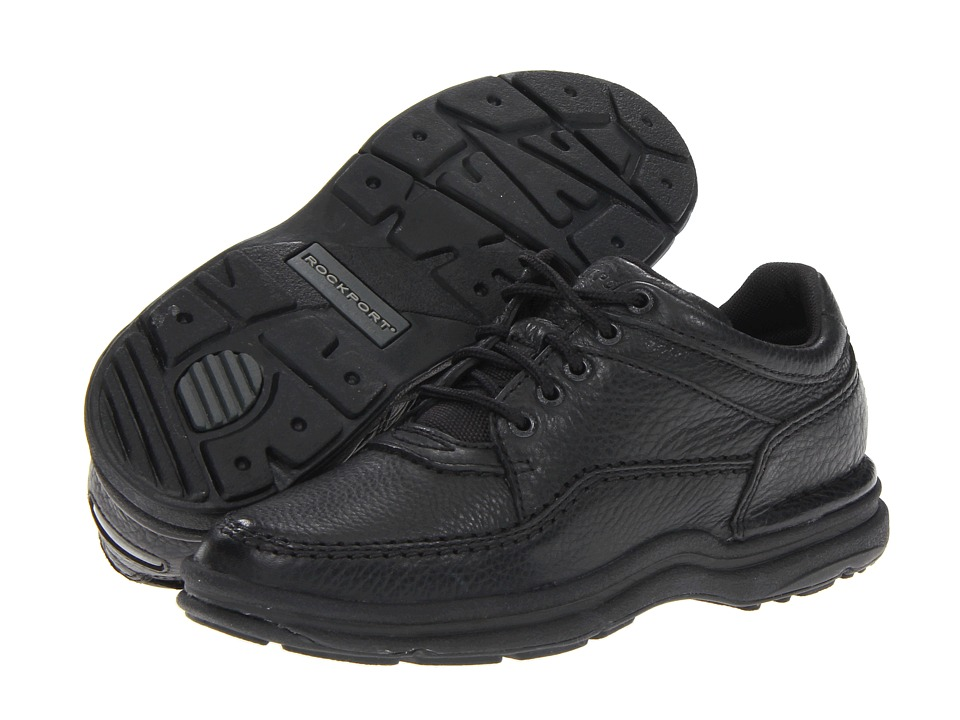 Rockport - World Tour Classic (Black) Women's Lace up casual Shoes