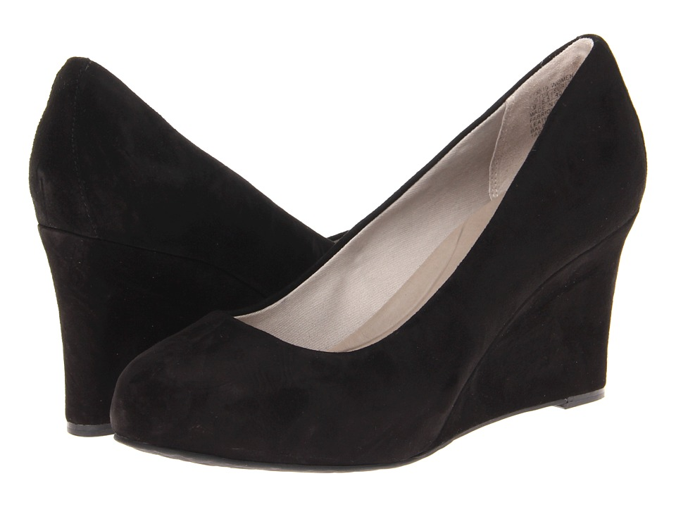 Rockport - Seven to 7 W85 Wedge Pump (Black Suede) High Heels