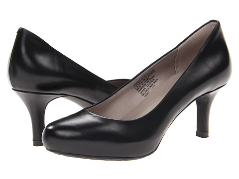 Rockport - Seven to 7 Low Pump (Black Leather) High Heels