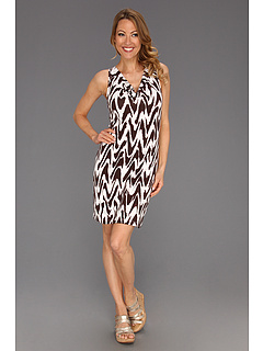 SALE! $31.99 - Save $96 on Tommy Bahama Zig Saw Dress (Brazil Nut) Apparel - 75.01% OFF $128.00
