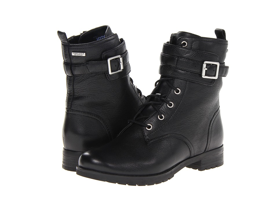 Rockport - Tristina Lace Up Boot (Black) Women