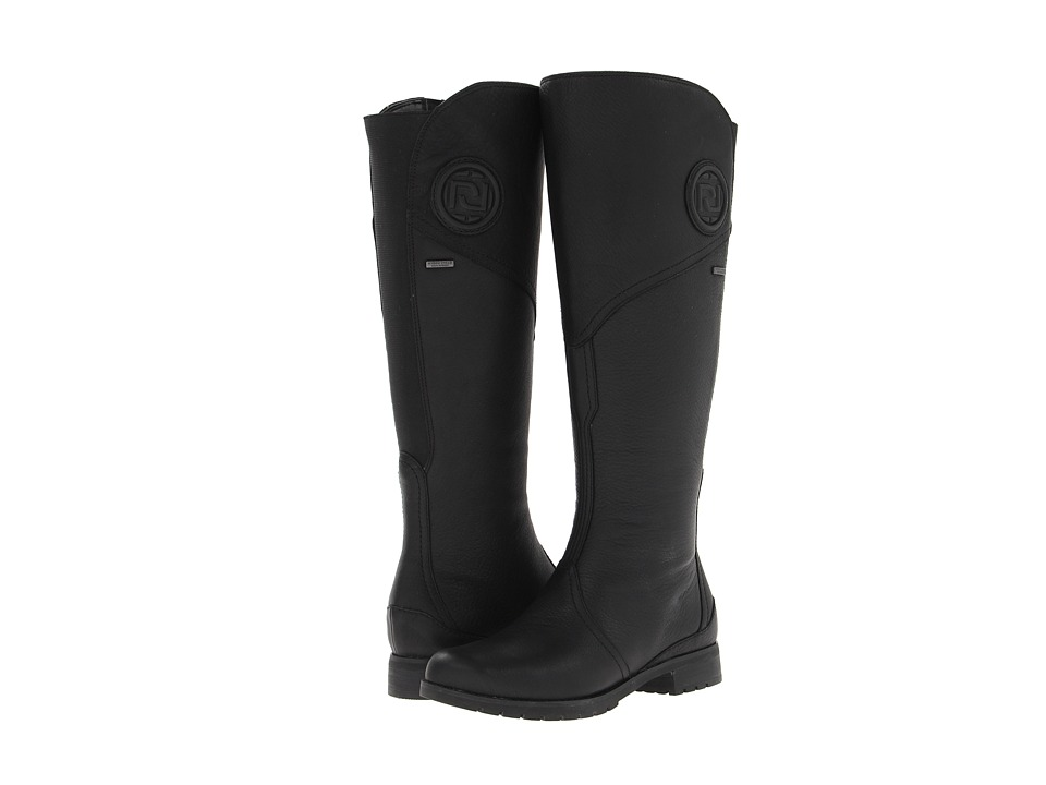 Rockport - Tristina Gore Tall Waterproof Boot - Wide Calf (Black - Extended Shaft) Women's Zip Boots