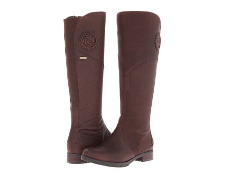 Rockport - Tristina Gore Tall Waterproof Boot - Wide Calf (Brownie - Extended Shaft) Women's Zip Boots