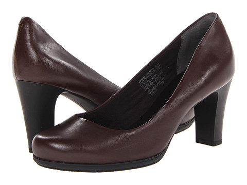 Rockport - Total Motion 75mm Plain Pump (Coach Leather) High Heels