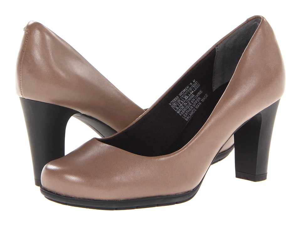 Rockport - Total Motion 75mm Plain Pump (Fossil) High Heels