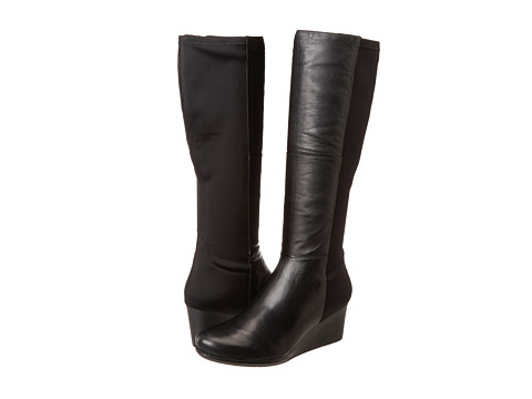 Rockport - TM60MMW Stretch Boot (Black Leather) Women's Boots