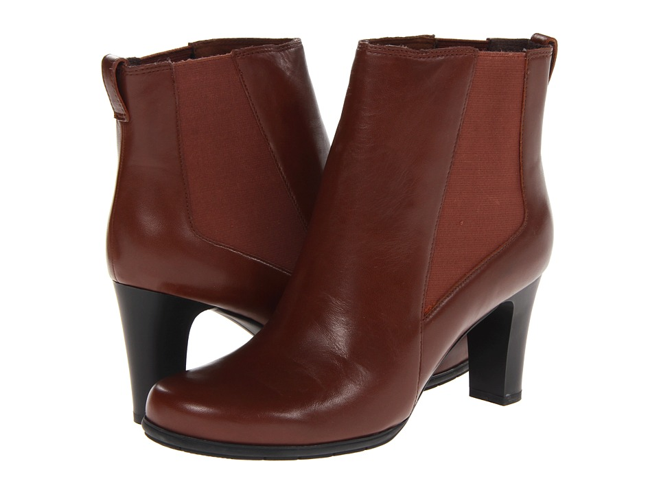 Rockport Total Motion Chelsea Boot (British Tan) Women