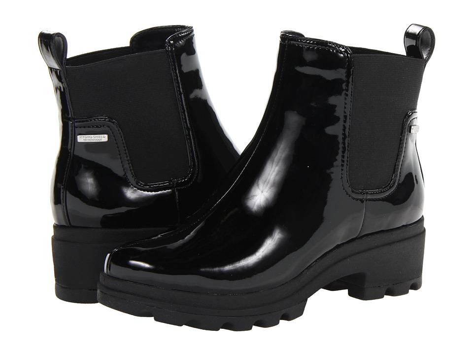 Rockport - Lorraine II Lite Chelsea Boot (Black Patent) Women's Boots